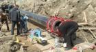 Монтаж пайка полиэтиленового трубопровода
