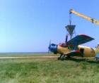 Подкормка озимой пшеницы, тритикале и рапса авиатехникой