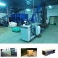 Линия для прессовки и упаковки опилок, торфа, древесной струж