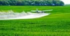 Авіа хім обробка полів гелікоптером та кукурузником