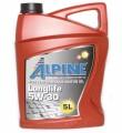 Масло моторное Alpine Longlife 5W-30 синтетическое 5л