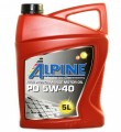 Масло моторное Alpine PD 5W-40 синтетическое 5л