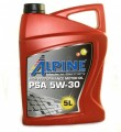 Масло моторное Alpine PSA 5W-30 синтетическое 5л