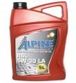 Масло моторное Alpine RSL 5W-30 LA синтетическое 5л