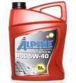 Масло моторное Alpine RSL 5W-40 синтетическое 5л