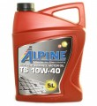 Масло моторное Alpine TS 10W-40 полусинтетическое 5л