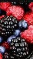 Замороженная органическая малина, ежевика, сушеная малина