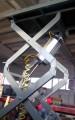 Подъемный пневматический стол