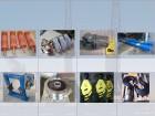 Крановые: крюки, колеса, барабаны, балки, подвески, ТКГ, ТЭ, двигатели и др