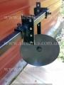 Дисковые окучники на подшипниках, усиленные до мотоблока - Превью изображения 3