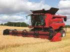 Предоставляем услуги по уборке зерновых комбайнами CASE.