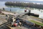Морской порт на Дунае оказывает услуги по перевалке грузов