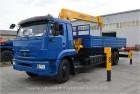 Продаётся кран манипулятор SOOSAN SCS-876L на базе КАМАЗ 65117