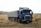 Перевозка зерновых (автотранспорт)
