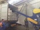 Перевалка зерна в контейнера