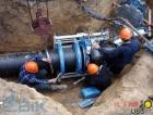 Монтаж замена трубопроводов подачи воды