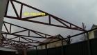Продам ферма 6м,12м, 18м, 24м бу, двухскатные, односкатные металл