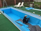 ѕ¬' мембрана дл¤ гидроизол¤ции резервуаров с питьевой водой 1,5 мм