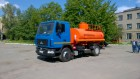 Новый автотопливозаправщик АТЗ-10 на шасси МАЗ