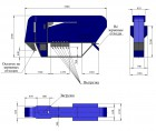 Зерноочиститель АСМ15 с камерой аспирации, аналог САД15, веялка