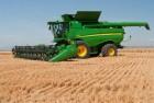 Уборка зерновых и масличных культур комбайнами John-Deere и CASE IH ht