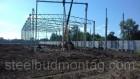 Строительство производственного цеха 24*60*7. Монтаж металлоконструкц