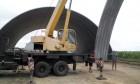 Строительство ангаров за 210 грн/кв