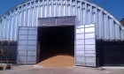 Бескаркасные ангары под зернохранилище