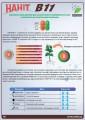 Бор (186,2 г/литр) микроудобрение НАНІТ В11 Гермес