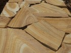 камень песчаник тигровый с разводом