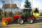 Компактні трактори і обприскувачі для рослин