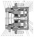 Ремонт гидравлики   Berthoud Raptor подшипники бортовой, сальники.