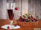 Наливка вишнева(Спотикач) натуральна, домашня