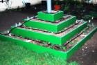 Пирамида под клубнику 4х ярусная