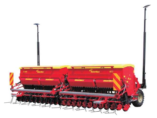 Продам зернову механічну сівалку Grano 600F/48, Matermacc - Изображение 1