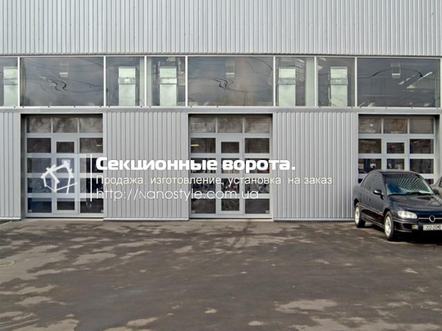 Ворота секционные промышленные и откатные Киев и область. - Изображение 3