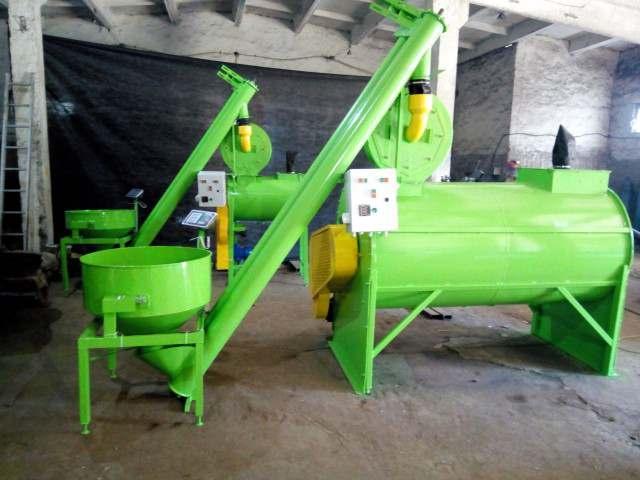 Комбікормова установка, горизонтальний змішувач, подрібнювач зерна - Изображение 1