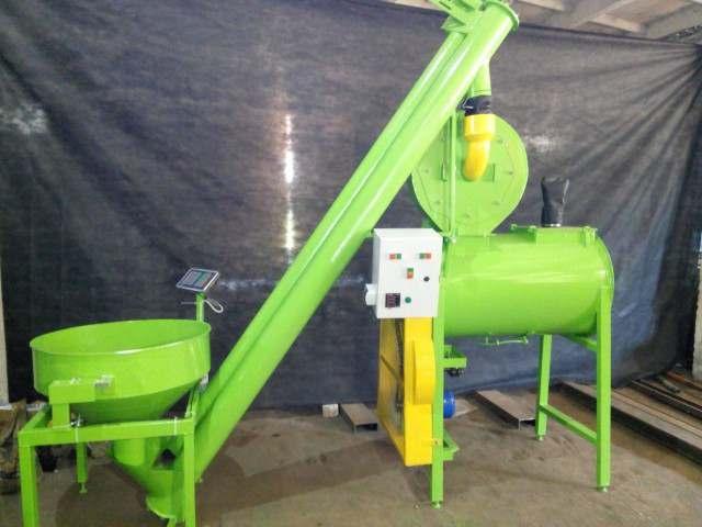 Комбікормова установка, горизонтальний змішувач, подрібнювач зерна - Изображение 4