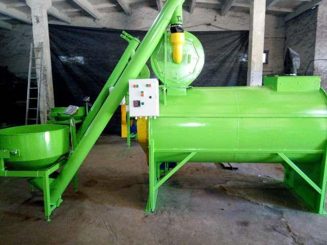 Комбікормова установка, горизонтальний змішувач, подрібнювач зерна - Изображение 3