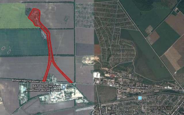 Промышленная площадка 13 га в Черкасской области - Изображение 1