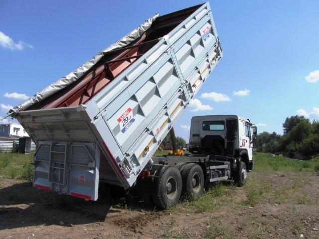 Зерновоз HOWO 6x4 - Изображение 4