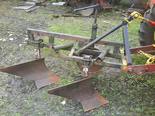 Плуг для самодельного трактора