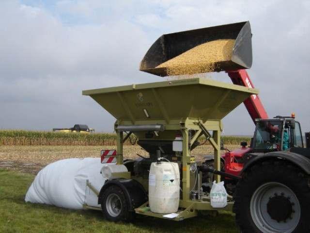 Послуги по закладці вологої кукурудзи (корнаж) в полімерні рукава - Изображение 1