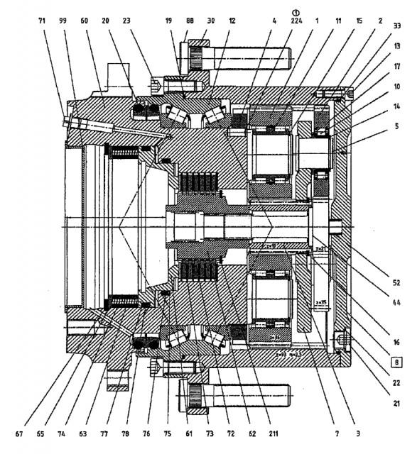 Ремонт бортовой Berthoud - бортового редуктора на Berthoud Raptor - Изображение 2