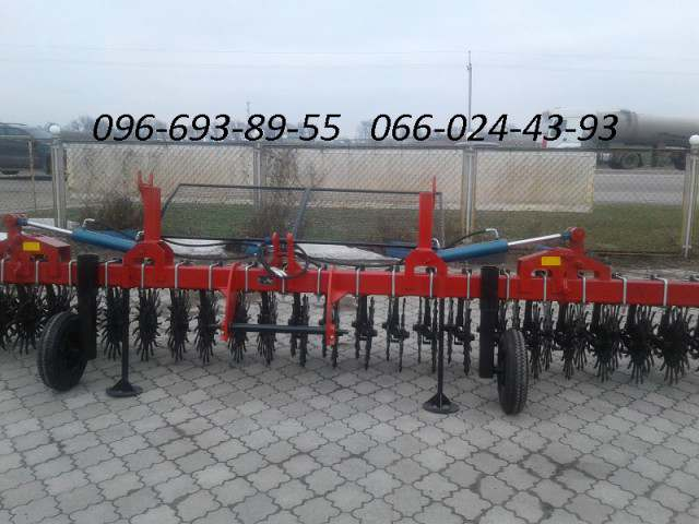 Борона ротационная ( мотыга) МРН-3, МРН-6, МРН-9, МРН-12 - Изображение 3