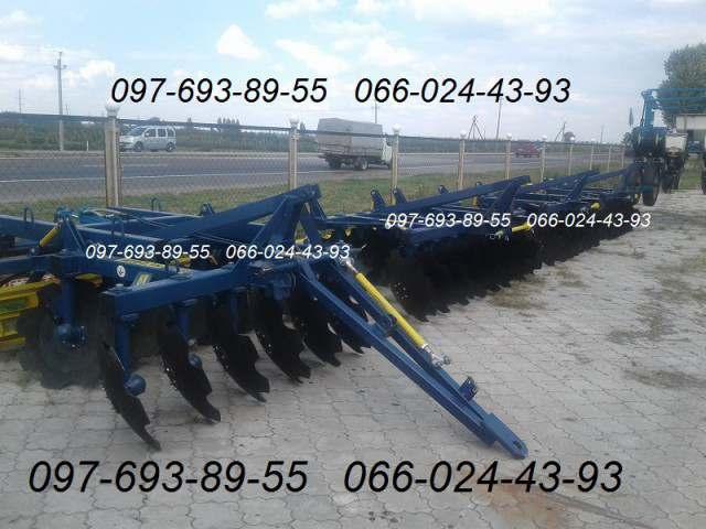 Прицепные дисковые бороны АГД-2.1Н, АГД-2.5Н, АГД-2.8Н, АГД-3.5Н/4.5Н - Изображение 2