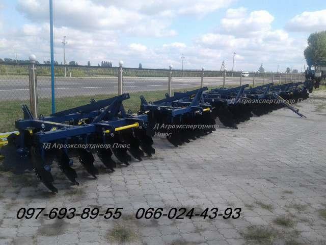 Прицепные дисковые бороны АГД-2.1Н, АГД-2.5Н, АГД-2.8Н, АГД-3.5Н/4.5Н - Изображение 1