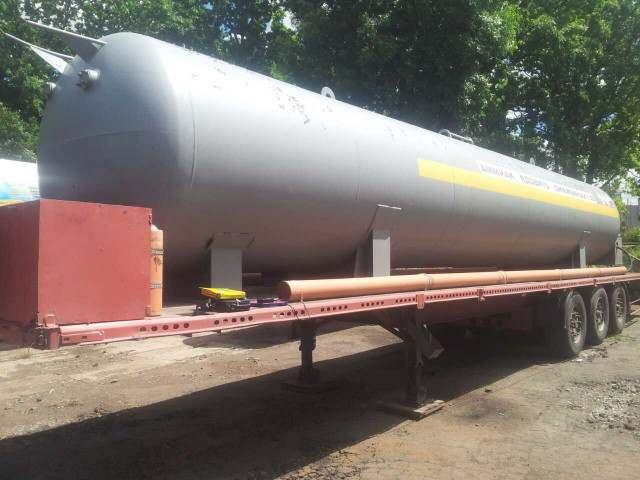 Полуприцеп - цистерна для транспортировки аммиака - Изображение 2
