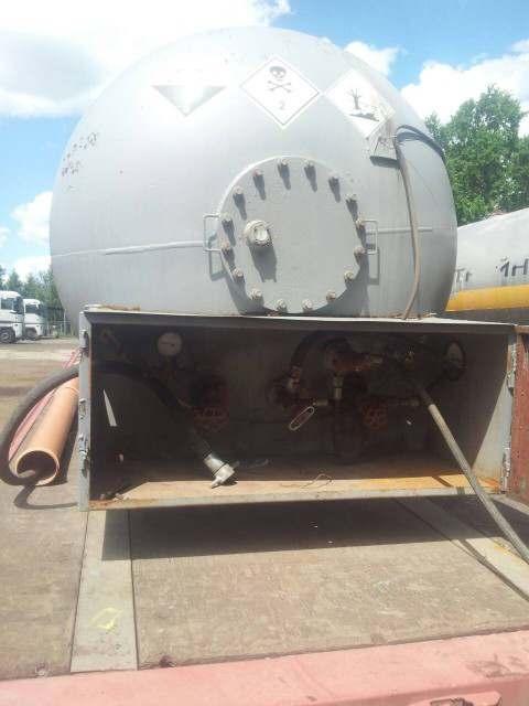 Полуприцеп - цистерна для транспортировки аммиака - Изображение 3
