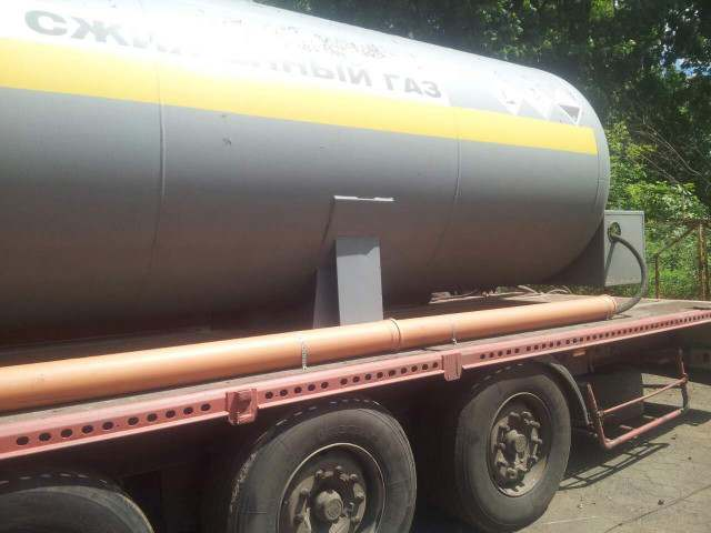 Полуприцеп - цистерна для транспортировки аммиака - Изображение 4